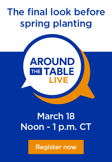The final look before spring planting, March 18, noon-1pm CT, Register now
